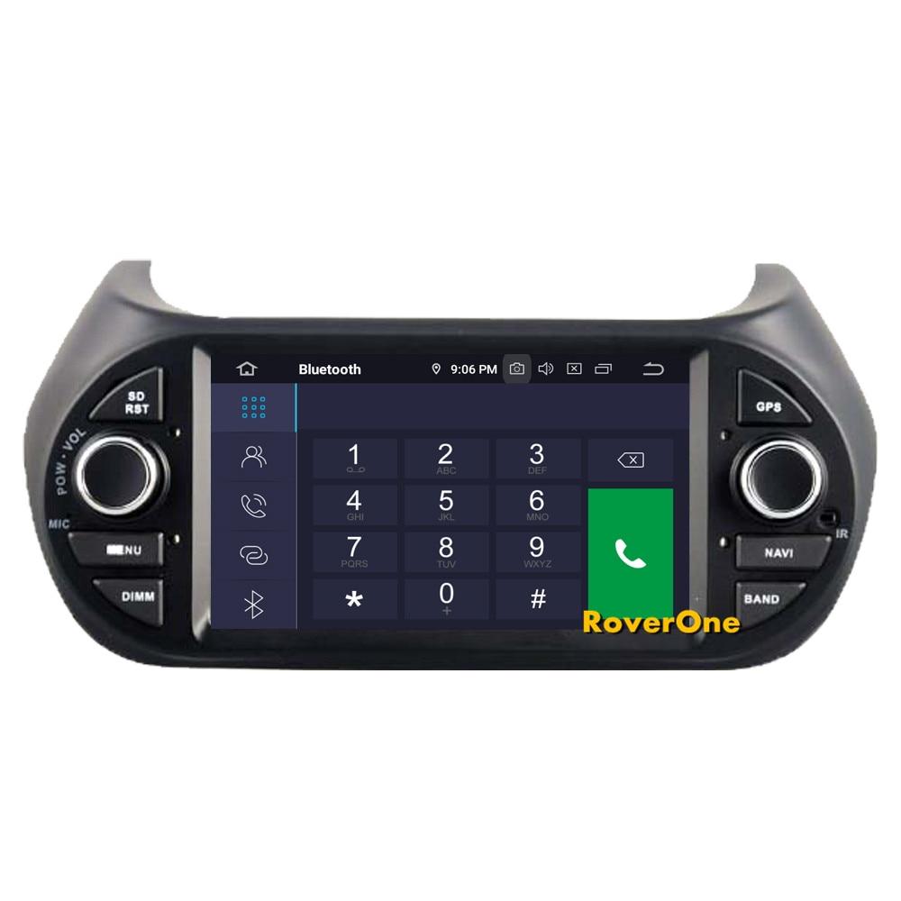 Flash Deal RoverOne Car Multimedia Player For Fiat Fiorino Qubo For Citroen Nemo For Peugeot Bipper Android 9.0 Octa Core Radio Navigation 6