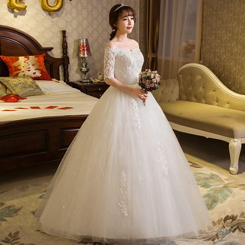 Cheap Elegant Wedding Dresses: Backlacegirl Elegance Wedding Dress 2018 Princess Vintage