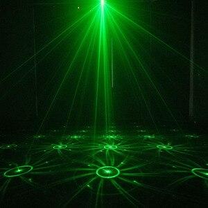 Image 5 - ALIEN RGB Mini 3 Objektiv 48 Muster Mischen Laser Projektor Wirkung Bühne Fernbedienung 3W Blau LED Licht Zeigen DJ disco Party Beleuchtung