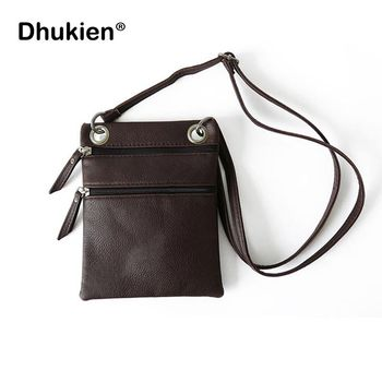 Women Pu Messenger Bags Vintage Mini Ladies Crossbody Bag Fashion Sling Bag for Women Coin Purse