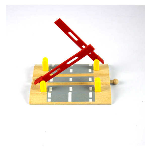 D551 \wooden Tmas rail train toy accessories sell like hot cakes The parallel bars crossing Educational Boy/ Kids Toy