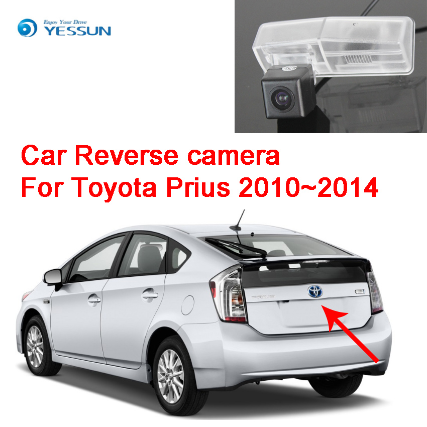 YESSUN For Toyota Prius 2010~2014 Car Rear View Back Up Reverse Parking high quality Camera Waterproof Night Vision CCD HD+CAR image