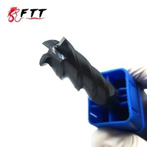 Image 2 - Endmill molinillo de extremo de carburo HRC50, 4 flautas de 4mm, 5mm, 6mm, 8mm, 12mm, acero de tungsteno, cortador de fresado cnc, herramientas de molinillo de extremo