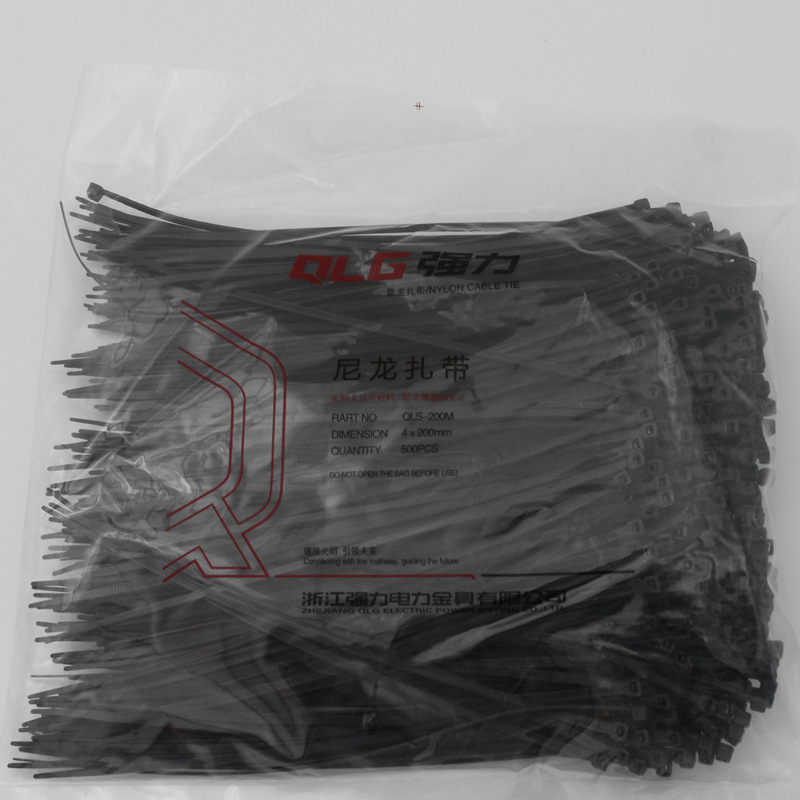 500Pcs/pack 4*200mm high quality width 2.8mm black color Factory Standard Self-locking Plastic Nylon Cable Ties,Wire Zip Tie yds 200m 4 x 200mm self locking nylon cable tie wraps white 500 pcs page 7