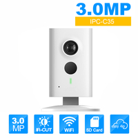 Wireless IP Camera IPC C35 OEM 3MP WIFI Cam Security Kamera English Version Support Upgrade CCTV