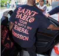 Fashion Hip Hop 2018 Singer Kanye West Saint Pablo Tour T shirtS I feel like Paul Cotton T-shirt Men Women Tee