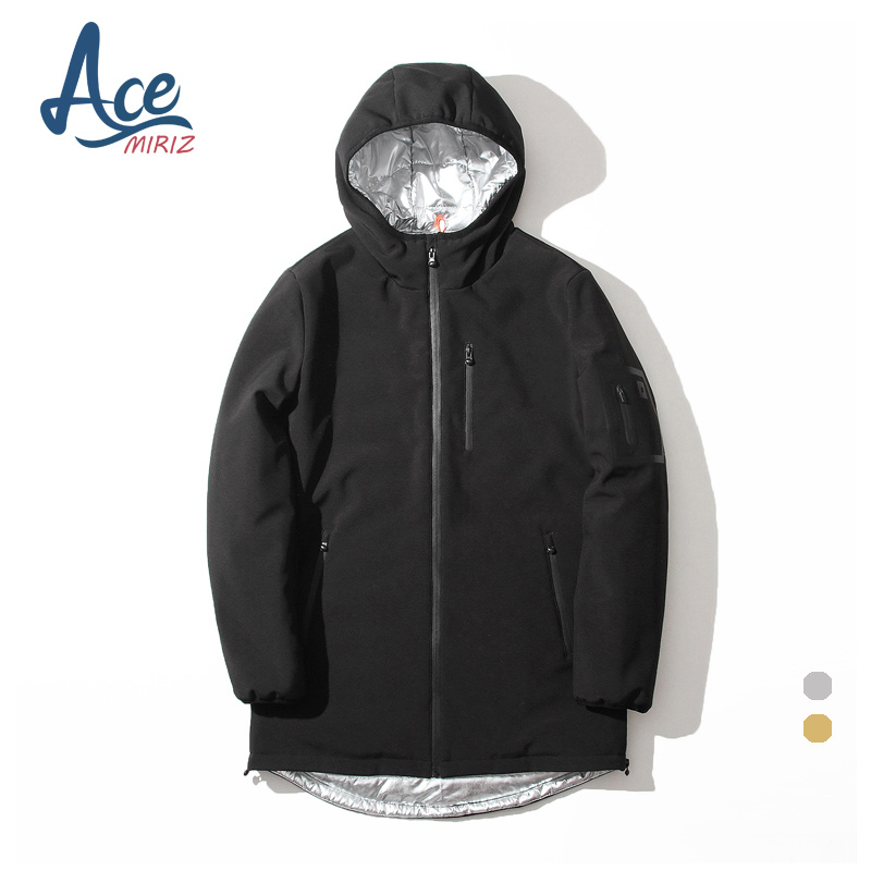ACEMIRIZ High Quality Cotton-padded Clothes Hooded 2017 Fashion Men's Jacket Winter Warm Coat Brand Clothing FH-8868 new obese men hooded down jacket in winter jacket coat plus size7xl8xl cotton padded clothes to keep warm and high quality coat