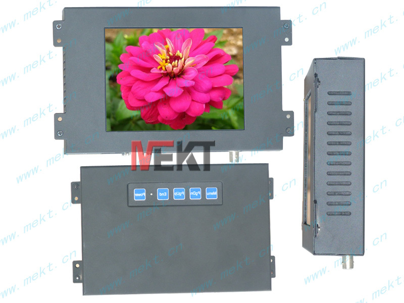 6.4 inch led touch monitor hdmi signal input industrial touch screen pc monitor