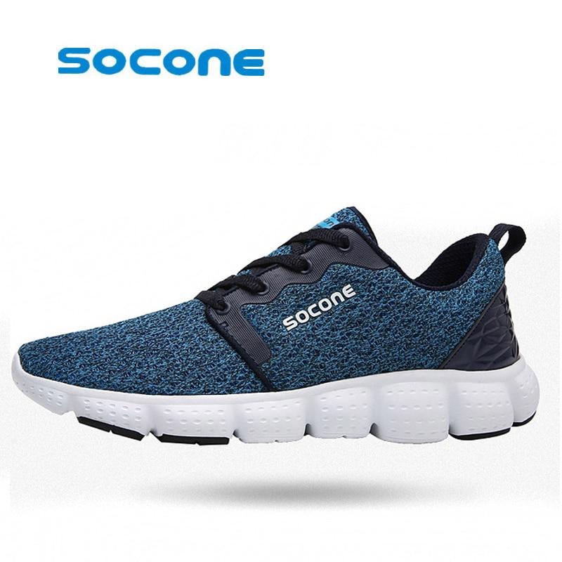 Zapatos cómodos zapatos corrientes de los hombres zapatos para correr maratón de