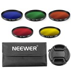 Neewer 67mm Complete Full Color Lens Filter Set for Canon and Nikon DSLR Camera with 67mm Lens Thread Filter Carrying Pouch