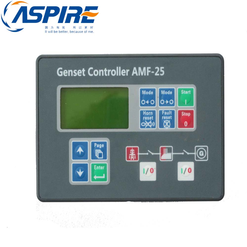 Generator Controller AMF25, AMF Controller Genset Control Module AMF25