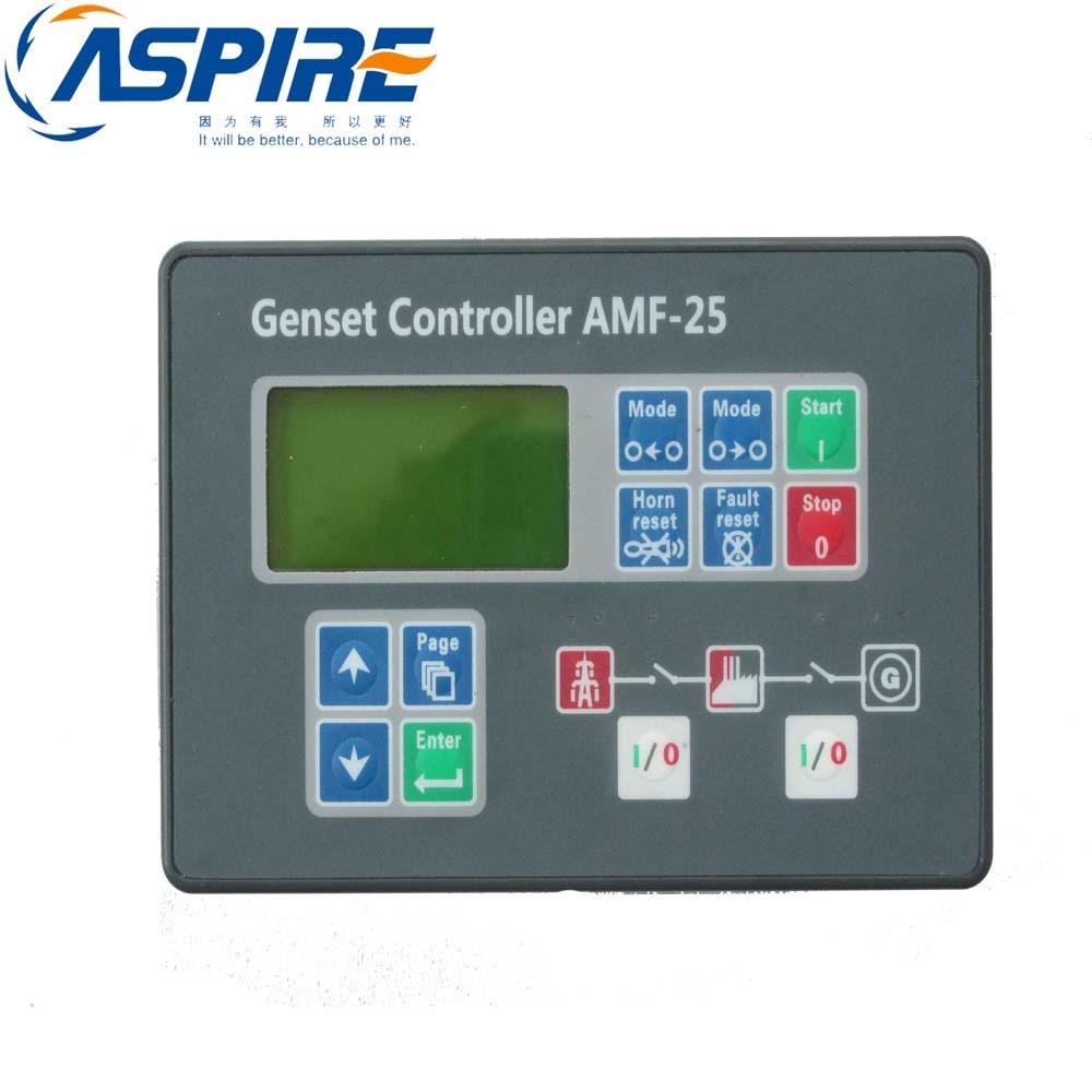 Generator Controller AMF25, AMF Controller Genset Control Module AMF25 electronics controller controls module amf unit dse704