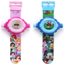 Disney watch children's toys Disney genuine authorized Mickey watch projector