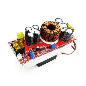 Image 2 - 1800W 40A 1500W 30A 1200W 20A convertisseur de poussée de DC DC Module dalimentation 10 60V à 12 90V chargeur de tension réglable