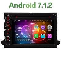 4G WIFI Android 7.1.2 2 GB RAM DAB + DVD Do Carro Multimedia Player rádio Para Ford Fusion Explorador Borda 500 F150 F250 F350 F450 F550