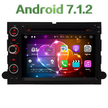 4G WIFI Android 7.1.2 2GB RAM DAB+ Car DVD Multimedia Player Radio For Ford Fusion Explorer Edge 500 F150 F250 F350 F450 F550