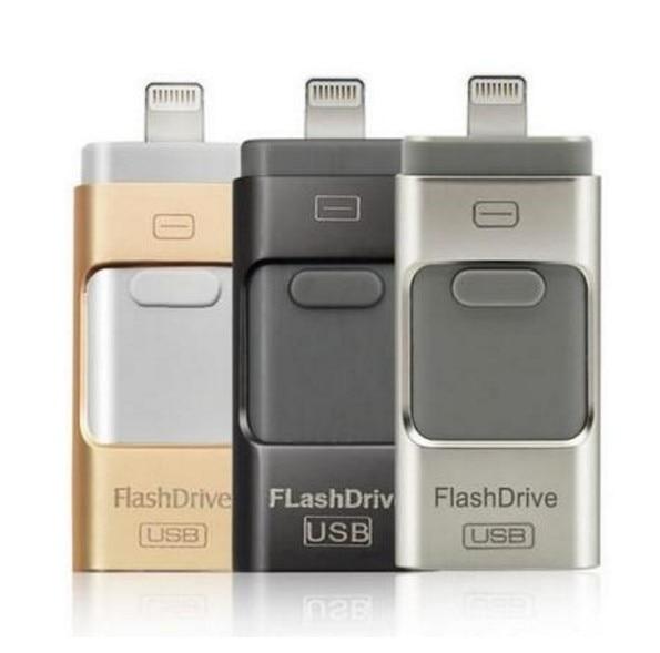 Chaude Pour iPhone 6 6 s Plus 5 5S ipad Stylo lecteur HD mémoire bâton Double objectif mobile OTG Micro USB Flash Drive 8 gb 16 gb 32 gb 64 gb