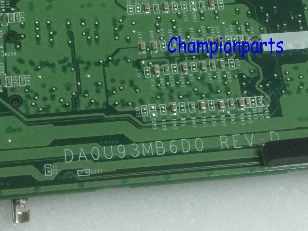 SALE IN RUSSIA ..FREE SHIPPING +WORKING 737141-501 DA0U93MB6D0 REV : D Laptop Motherboard For HP Pavilion 15-N NOTEBOOK PC
