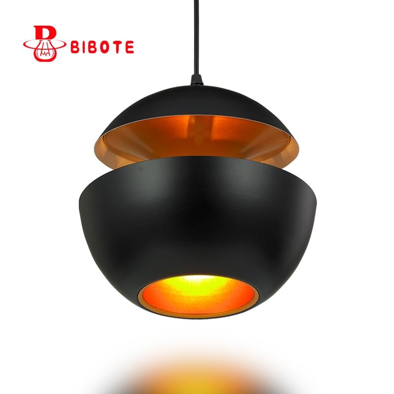 Modern led pendant lights whth E27 led bulb aluminum hanging lamp for dining-room, study boreal Europe style free shipping free shipping 2018 new europe style