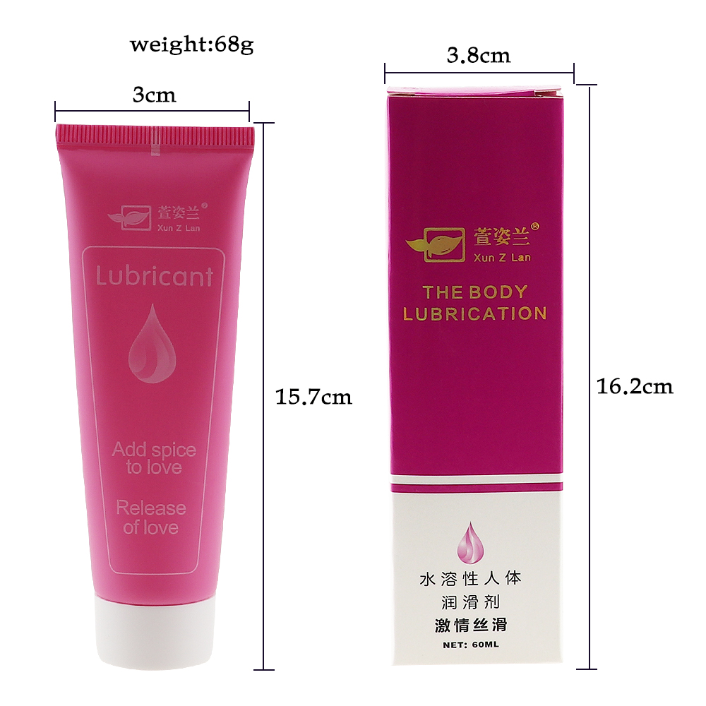 Image 4 - 60ml Intimate Lubricant for Anal Vagina Water Soluble Fisting Lubrication Massage Oil Anal Lube Sexo Sex Aphrodisiac for WomenVibrators   -