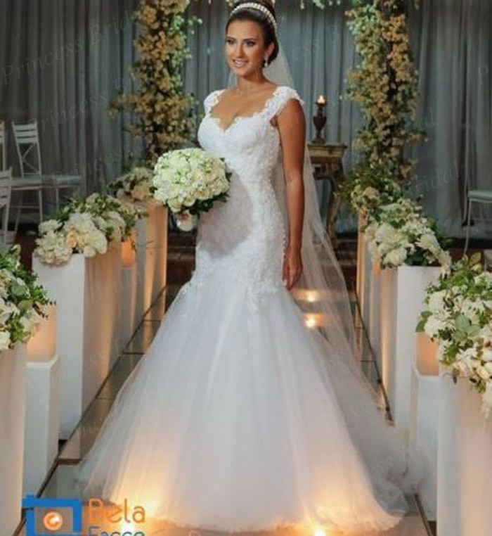 Online Buy Wholesale Bottom Tulle Mermaid Wedding Dress