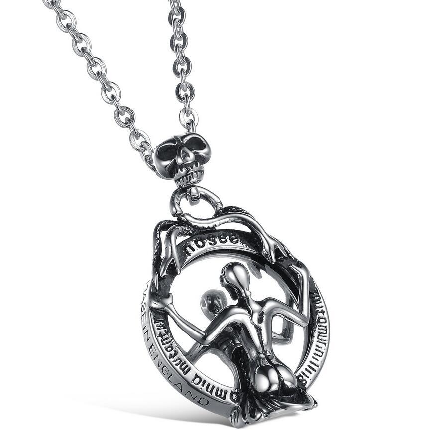 Stainless Steel Necklace Mens Jewelry Titanium Steel Pendant