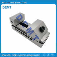 """High Precision Machine vise 2"""" 2 inch Fast Moving Vise CNC Vise Gad Tongs Plain Vice For Surface Grinding Milling EDM Machine"""