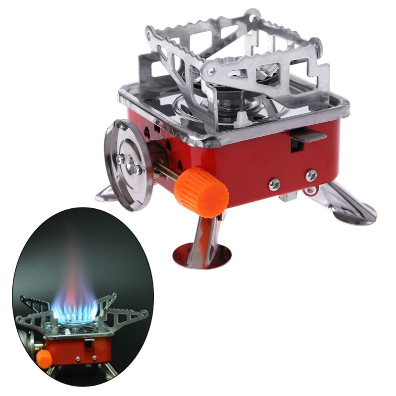 MEXI Outdoor Portable Stove Butane Gas Cooker For Camping Picnic Cookout BBQ windproof bbq portable butane cassette cooker grill outdoor griddle camping stove gas cooking outdoor picnic countertop burners