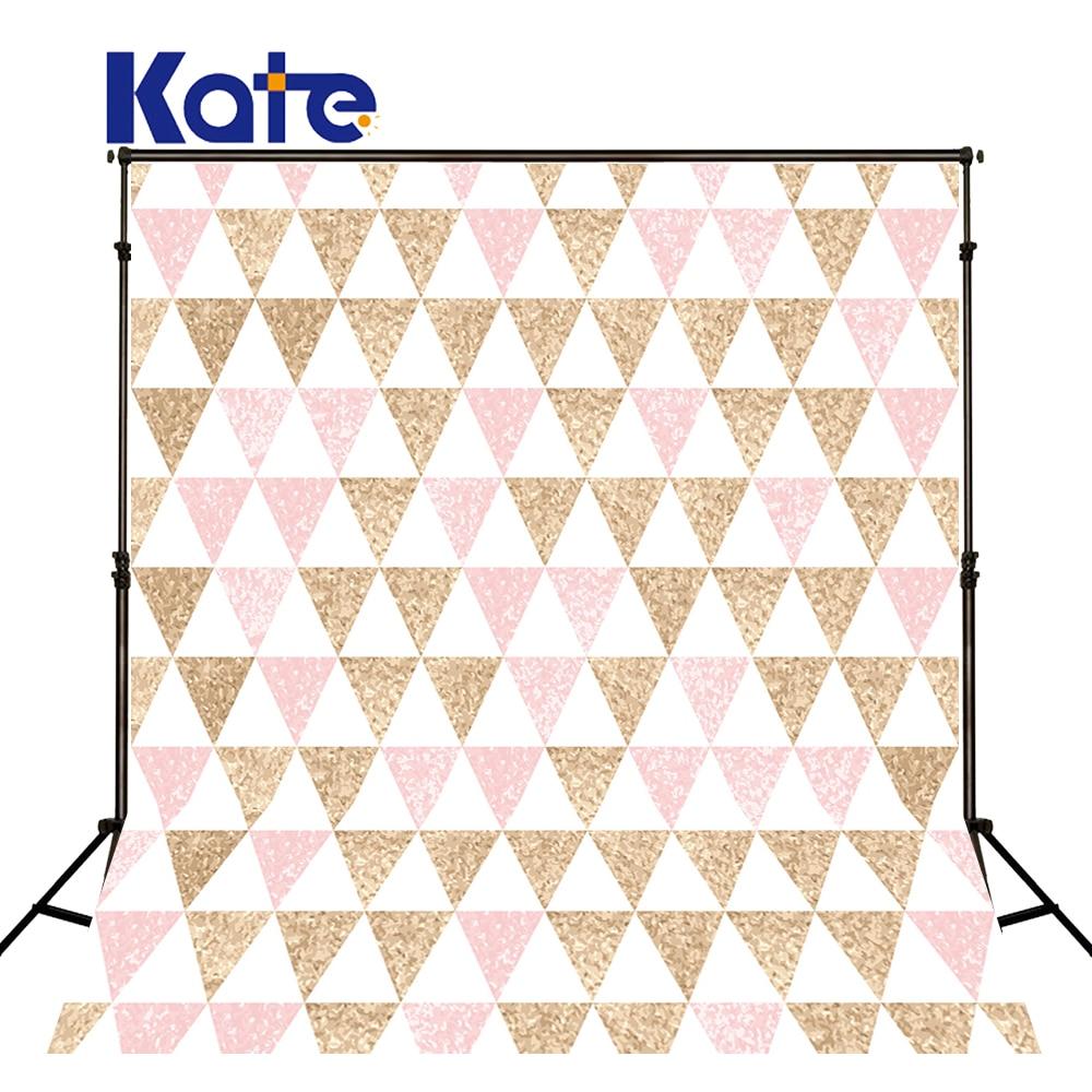 Kate arrière-plans pour Studio Photo Triangle de couleur claire pour enfants Kate arrière-plan photographique fonds de photographie rose
