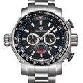 Relógios homens marca de luxo pagani design relógio do esporte de mergulho militar relógios big dial quartzo multifuncional relógio de pulso reloj hombre