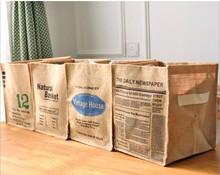 Foldable Mini Square New Multi-colored 100% Natural Linen & Cotton Fabric Storage Bins Baskets Organizers for Laundry