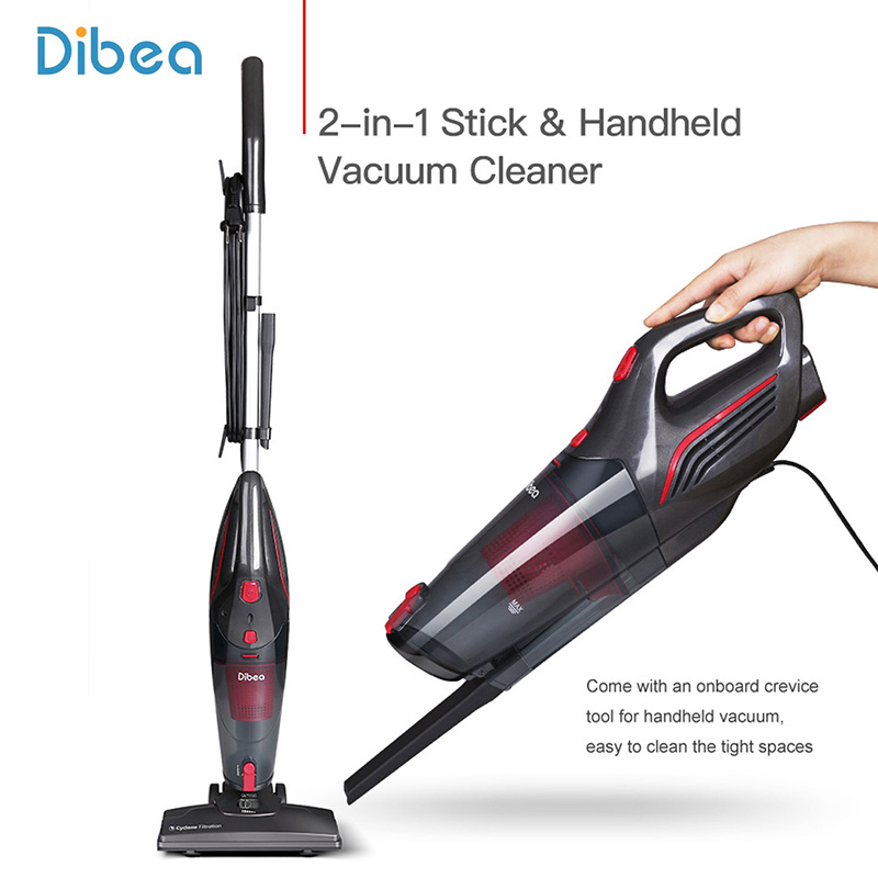 Dibea SC4588 Wired Vacuum Cleaner Handheld Stick Vacuum Cleaner Dust Collector Household Sweeping Machine Aspirator Crevice Tool цена и фото