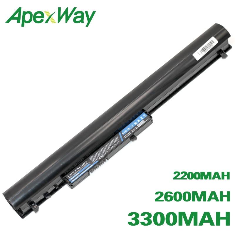 ApexWay Battery For HP 775825-221 LA03 776622-001 LA03031DF HSTNN-DB6N LA03DF 15 F004DX  F205DX  F010Dx F210CA  F010WM F033WM