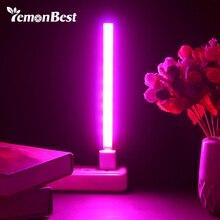 3 واط/14LED 5 واط/27 LED تنمو ضوء USB الأحمر والأزرق النباتات المائية تزايد ضوء بار لسطح المكتب نبات زهرة تنمو تيار مستمر 5 فولت