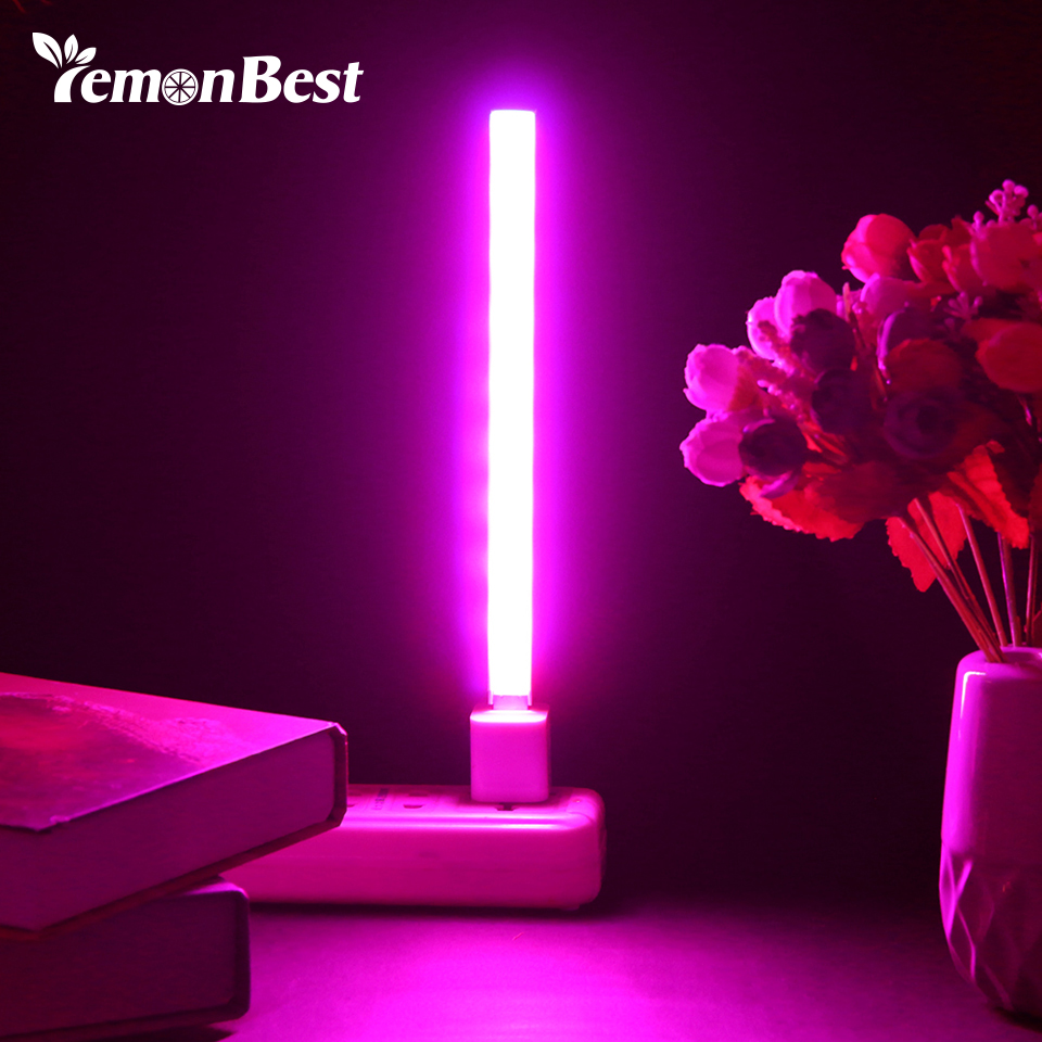 3W/14LED 5W/27 LED Grow Light USB Red & Blue Hydroponic Plant Growing Light Bar for Desktop Plant Flower Growing DC 5V(China)