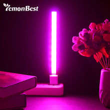 3w/14led 5w/27 led cresce a luz usb vermelho & azul hidropônico planta crescente barra de luz para desktop planta flor crescente dc 5v