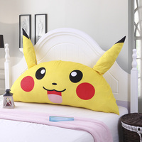 Home Decorative Pillows Cartoon Novelty Cute Embroidery Cushion Back Cushion For Bed One Piece Free Shipping