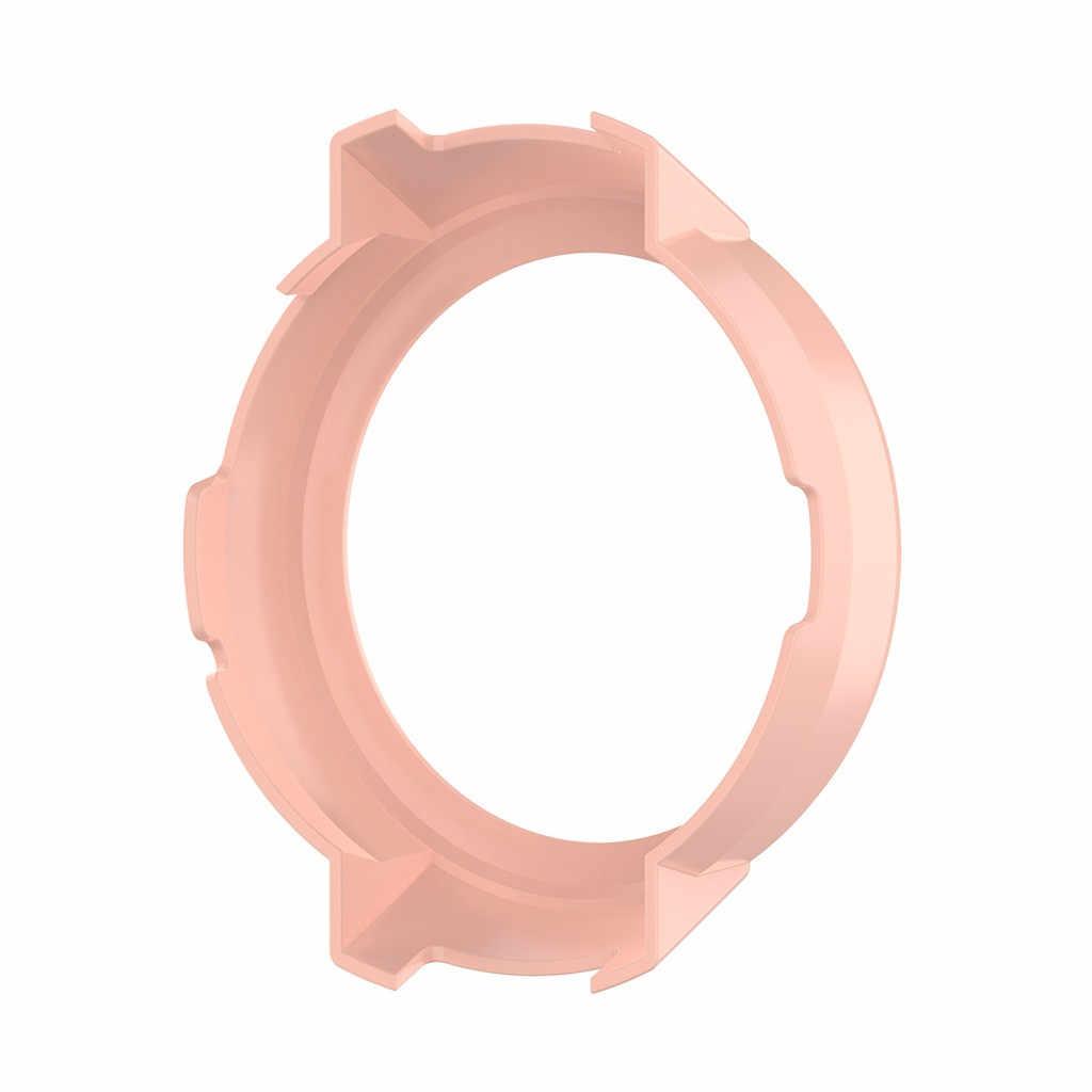 Funda de reloj deportivo de moda para Xiaomi Huami Amazfit Verge Watch funda carcasa de silicona marco de protección Simple duradera fácil de quitar