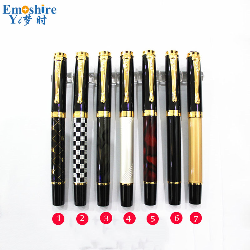 Best Brand Luxury Executive Ballpoint Pen High Quality Business Metal Roller Ball Pens for School Office Supplies JH011 ballpoint pen school office supplies cute animal roller ball pens high quality kawaii birthday business gift send children 001