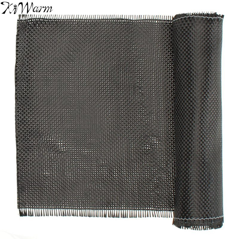 KiWarm Newest 3K 200gsm 1mx1m High Strength Carbon Fiber Cloth 0.25mm Thickness For Models Car Parts Sport Equipments 40 WidthKiWarm Newest 3K 200gsm 1mx1m High Strength Carbon Fiber Cloth 0.25mm Thickness For Models Car Parts Sport Equipments 40 Width