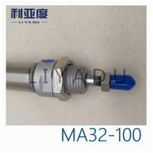 цена на MA series MA32-100 stainless steel cylinder MA32X100 miniature 32mm Bore 100mm Stroke
