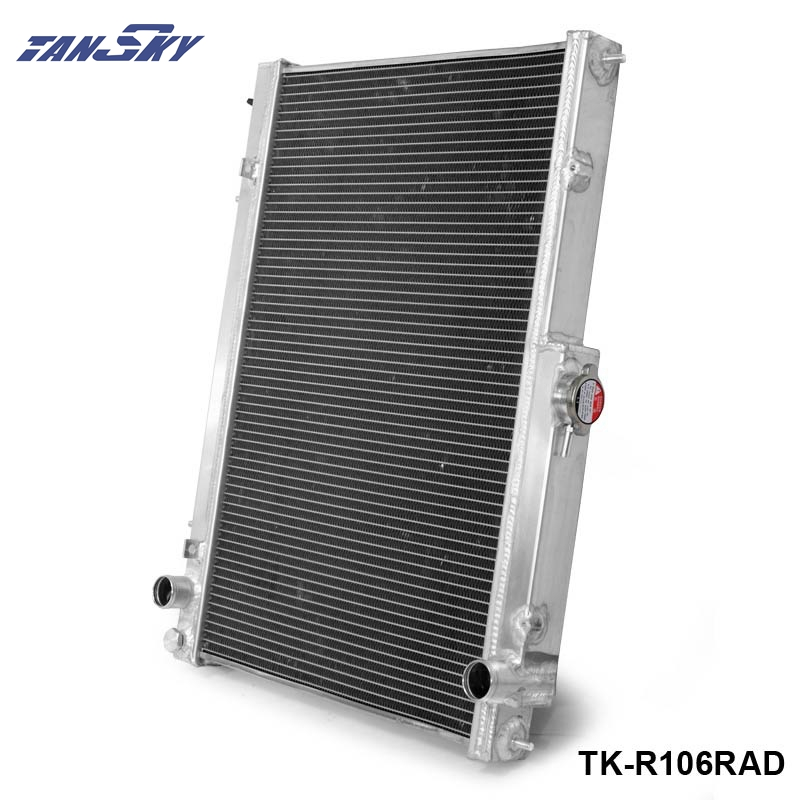 все цены на TANSKY - 42mm 2 Row Performance Aluminum Radiator for Nissan Skyline R33 R34 TK-R106RAD онлайн