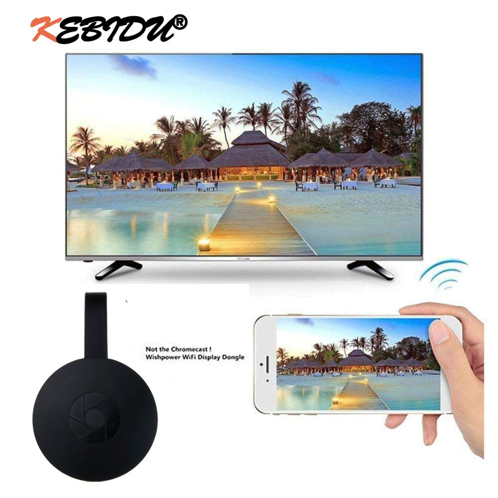 Kebidu G2 TV Stick HDTV Display Dongle Support HDMI Miracast Dongle Receiver for MiraScreen Newest Wholesale