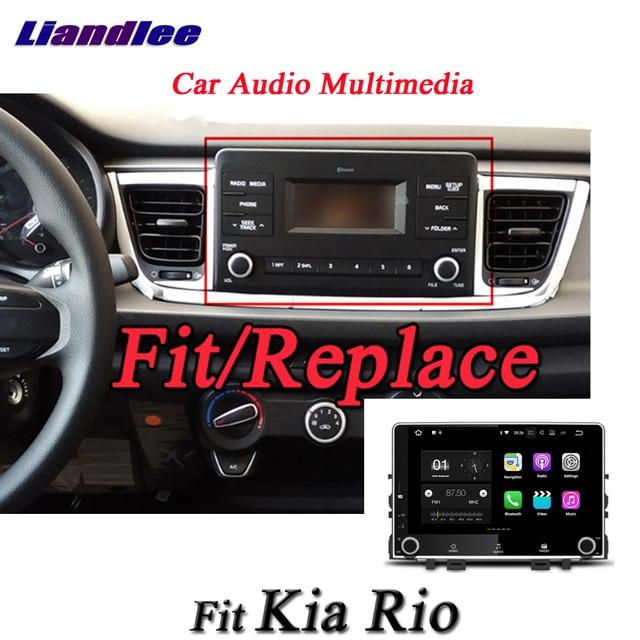 Liandlee Car Android System For Kia Rio Yb Kx Cross 2017 Radio Gps Nav Navi Map Navigation Wifi Hd Screen Multimedia Dvd