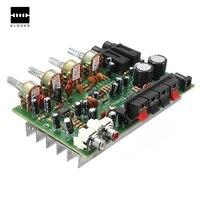 Новые электронные платы 12 В 60 Вт Здравствуйте Fi стерео цифровой аудио Мощность усилитель громкости тона Управление доска комплект 9 см x 13 см