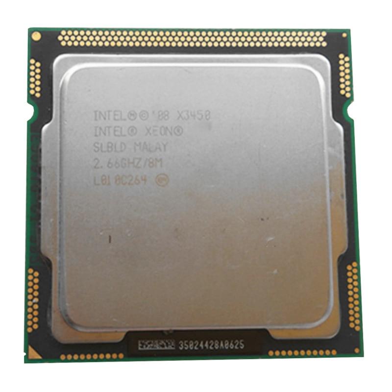 INTEL Xeon X3450 CPU LGA1156 Socket /2.66GHz /L3 8MB /2.5GTs Quad-Core Processor TDP /95W /have A Stock X3440 X3470