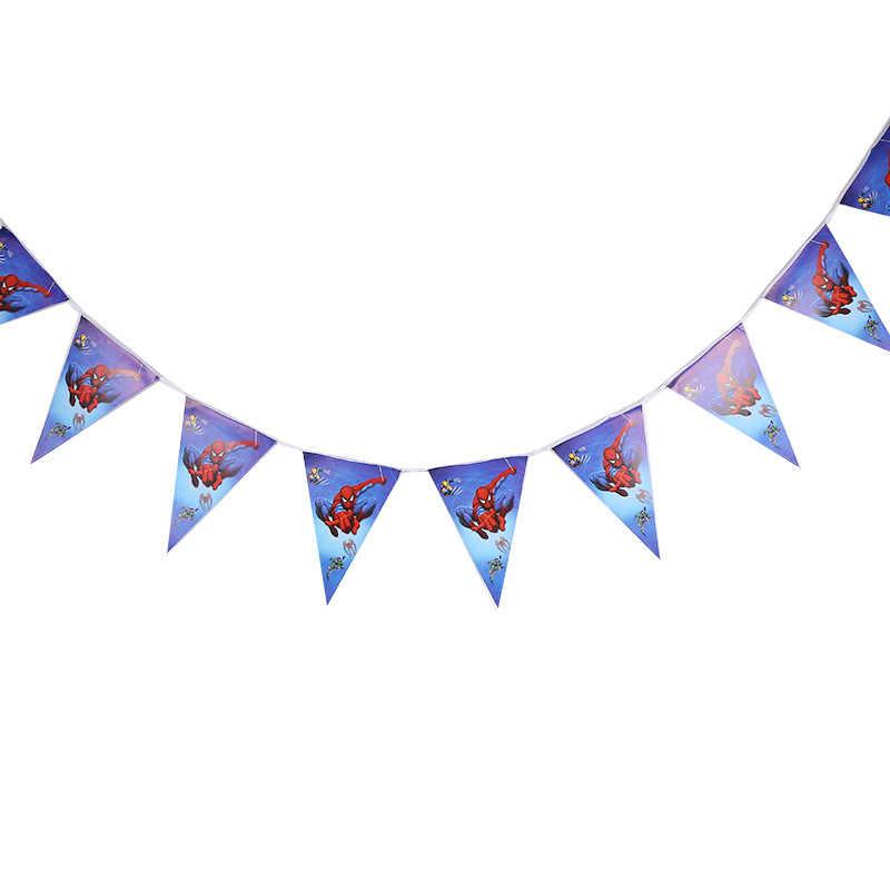 1 pcs ธีม spiderman party disposable พลาสติก 108*180 ซม. ผ้าปูโต๊ะ/แผนที่สำหรับเด็ก happy birthday party บนโต๊ะอาหาร
