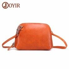 JOYIR Brand Genuine Leather Women Messenger Bag Sac a Main Shoulder Bag Crossbody Bags For Women Designer Handbags Bolsos New