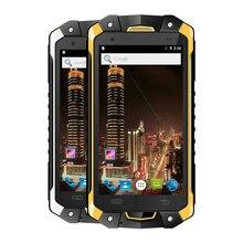 original LEMHOOV V18 IP68 Waterproof phone Rugged Android Smartphone Shockproof MTK6753 octa Core 3GB RAM 2 Watt UHF Radio 4G