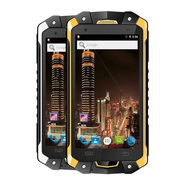 free shipping 894e9 81be2 US $206.8 |original LEMHOOV V18 IP68 Waterproof phone Rugged Android  Smartphone Shockproof MTK6753 octa Core 3GB RAM 2 Watt UHF Radio 4G-in  Mobile ...